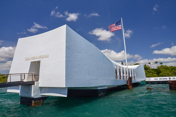 Arizona Memorial, Pearl Harbor